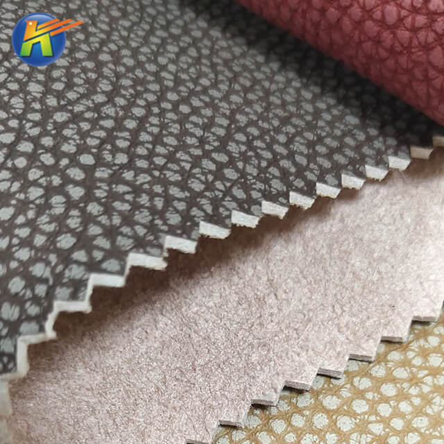 PU raw materials furniture sofa car seats shoes bags fabric leathe for sale