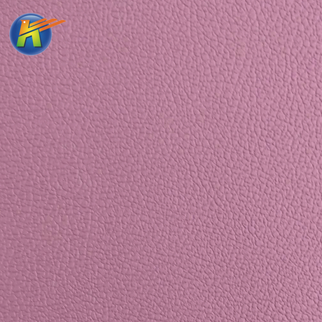 Hot-selling color register litchi pattern microfiber leather for car fabric material