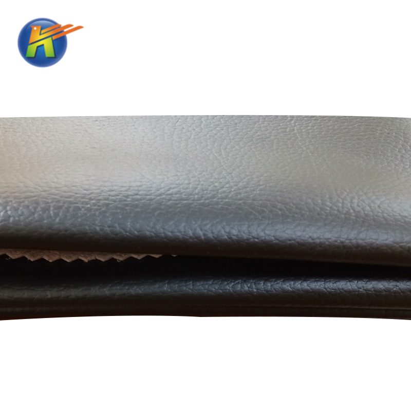 Hot Sale Imitation Leather with Litchi Pattern for Sofa